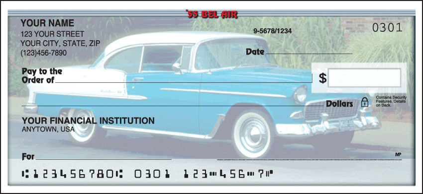 50s Chevy Checks - click to view larger image