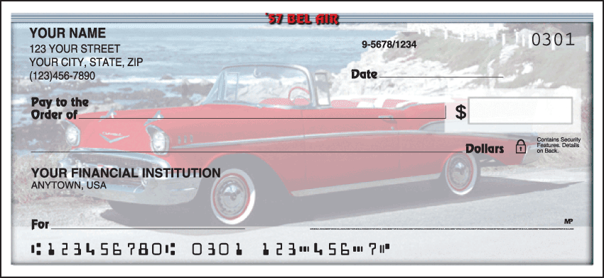 50s Chevy Checks - click to preview