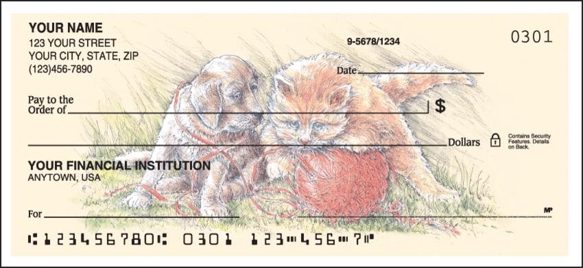 Animal Friends Checks - click to preview