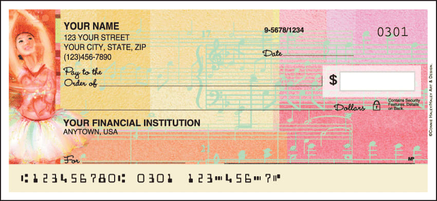 ballerina personal checks