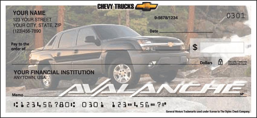 chevy trucks checks - click to preview