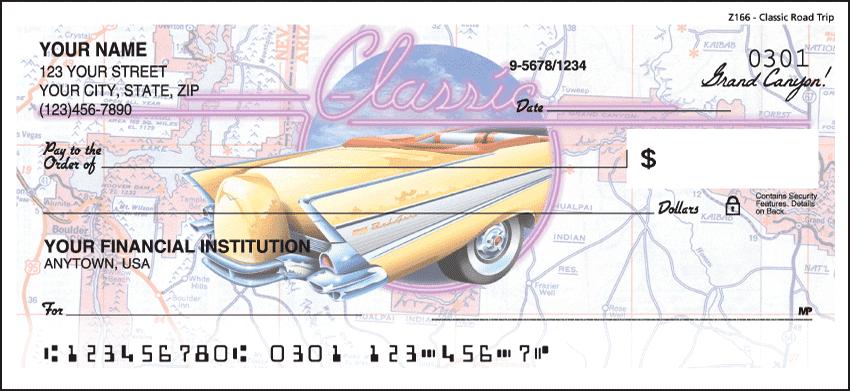 Classic Road Trip Checks - click to preview