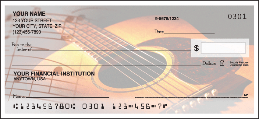 country music checks - click to preview