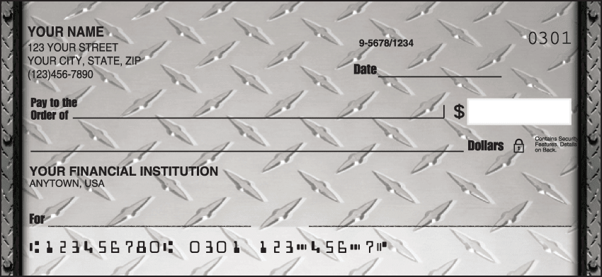 Diamond Plate Checks - click to view larger image
