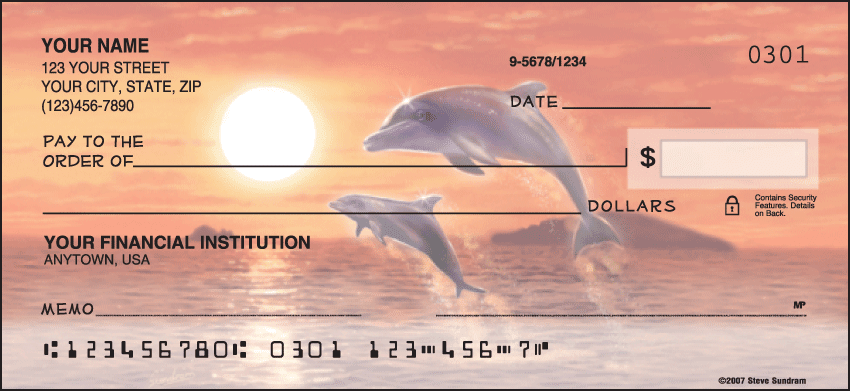 dolphins checks - click to preview