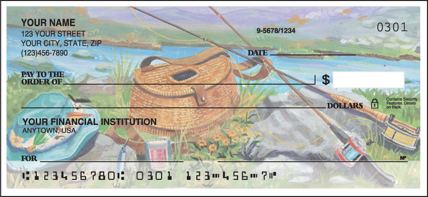 Fishing Checks - click to view larger image