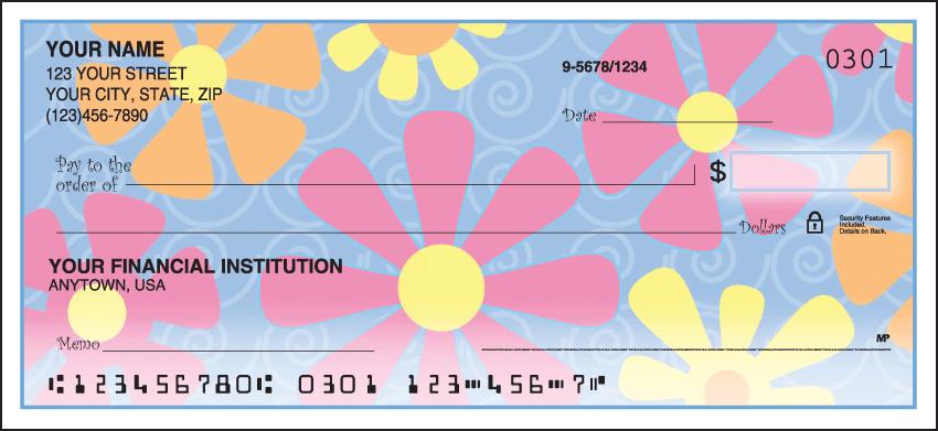 flower power checks - click to preview