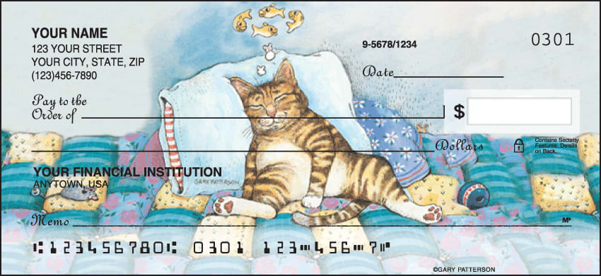 gary patterson cats checks - click to preview
