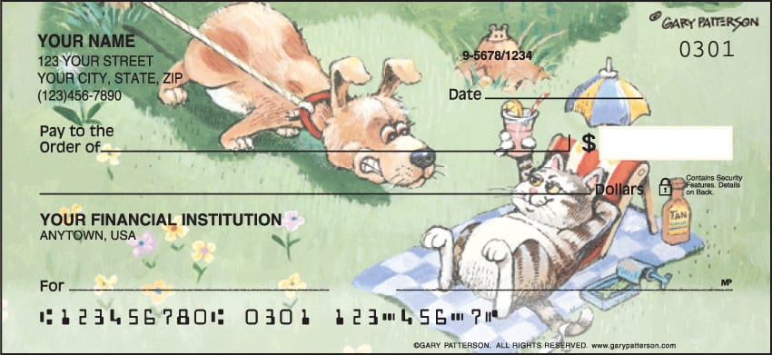 gary patterson pets checks - click to preview