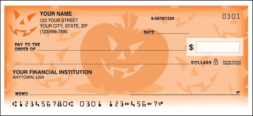 Halloween Checks - click to preview