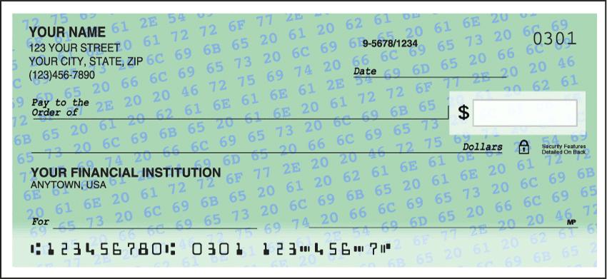 hexadecimal checks - click to preview