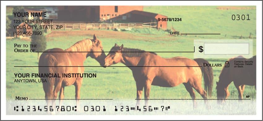 horse enthusiast checks - click to preview