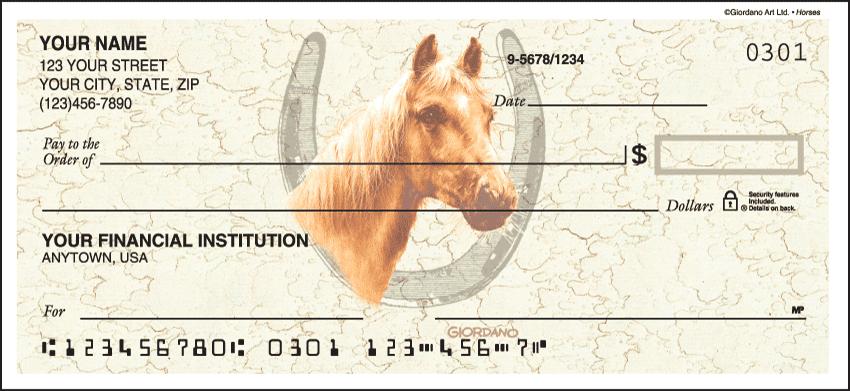 Horses Checks - click to view larger image