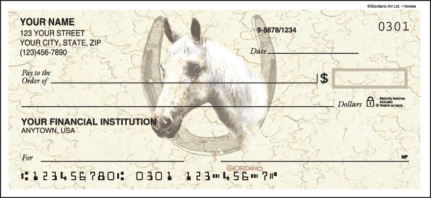 Horses Checks - click to preview