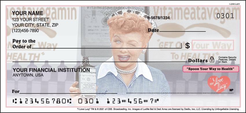 I Love Lucy Checks - click to preview