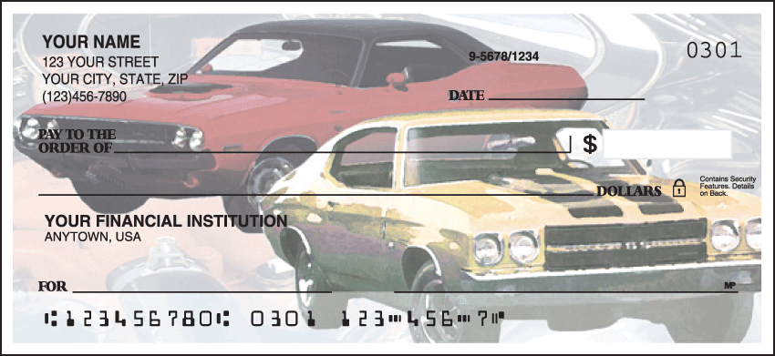muscle car checks - click to preview