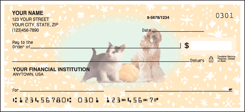 Enlarged view of Pet Pals Checks