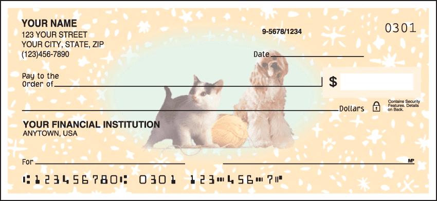 Pet Pals Checks - click to view larger image