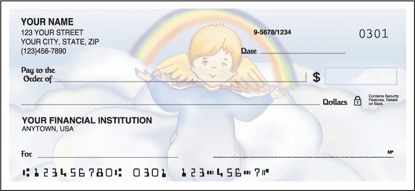 Precious Angels Checks - click to view larger image