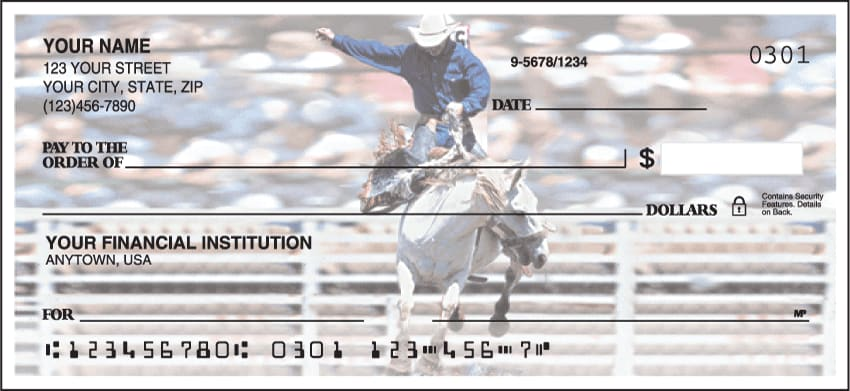 Pro Rodeo Checks - click to preview