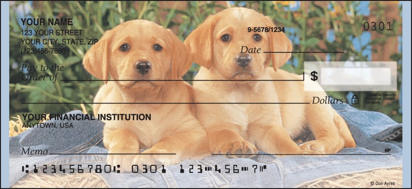 puppy pals checks - click to preview
