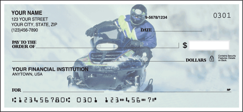 Snowmobile Checks - click to view larger image