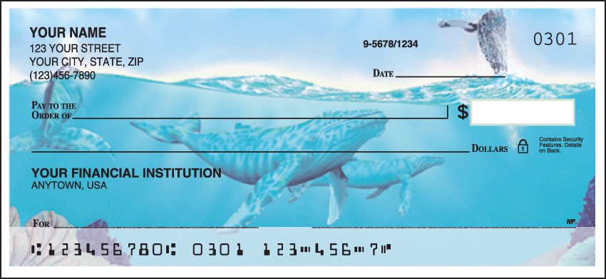 undersea fantasy checks - click to preview