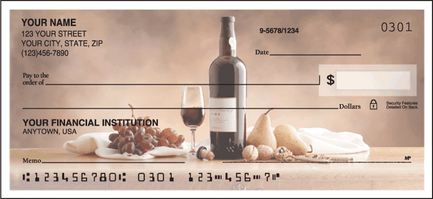 wine lover checks - click to preview