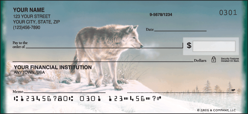 Enlarged view of wolves checks