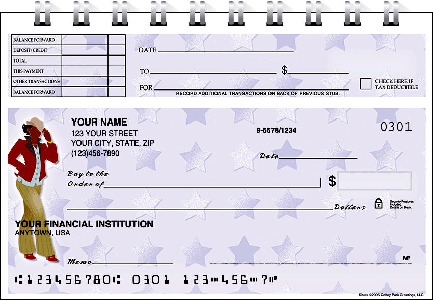 sistas top stub checks - click to preview