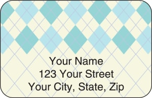 Argyle Address Labels – click to view product detail page
