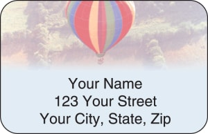Ballooning Address Labels – click to view product detail page