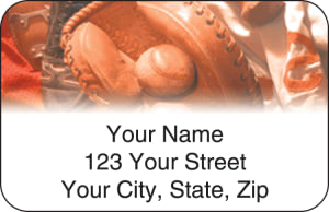 Baseball Address Labels – click to view product detail page