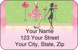 Boutique Address Labels – click to view product detail page
