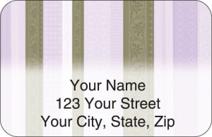Chocolate Decor Address Labels – click to view product detail page