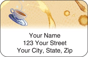 Coffee Break Address Labels – click to view product detail page