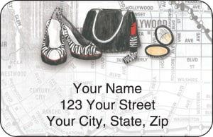 Concrete Jungle Address Labels – click to view product detail page
