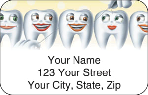 Dental Address Labels – click to view product detail page