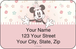 Disney Minnie Mouse Address Labels – click to view product detail page