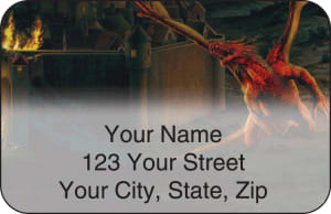 Dragons by Ciruelo Address Labels – click to view product detail page