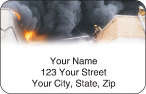 Fire & Rescue Address Labels – click to view product detail page