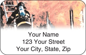 Firefighter Address Labels – click to view product detail page