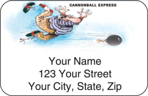 Gary Patterson Bowling Address Labels – click to view product detail page