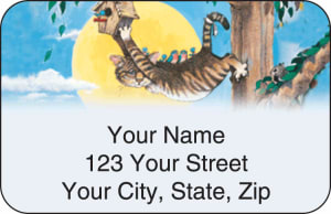 Gary Patterson Cats Address Labels – click to view product detail page