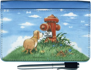 Gary Patterson Dogs Debit Wallet – click to view product detail page