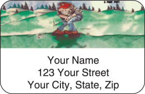 Gary Patterson Golf Address Labels – click to view product detail page