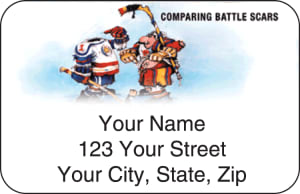 Gary Patterson Hockey Address Labels – click to view product detail page