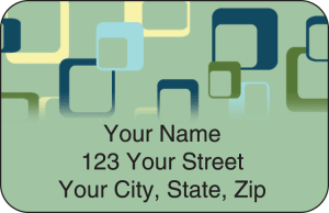 Geometric Address Labels – click to view product detail page