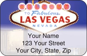 Las Vegas Address Labels – click to view product detail page