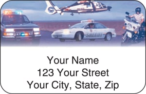 Law Enforcement Address Labels – click to view product detail page
